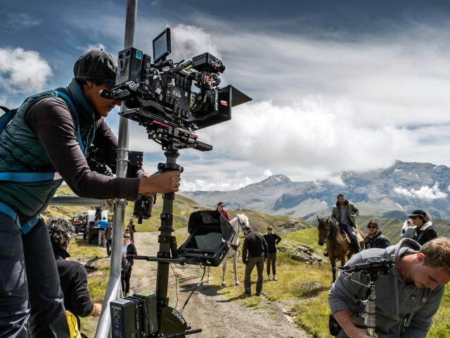 tournage de la série Alex Hugo dans les Alpes du Sud